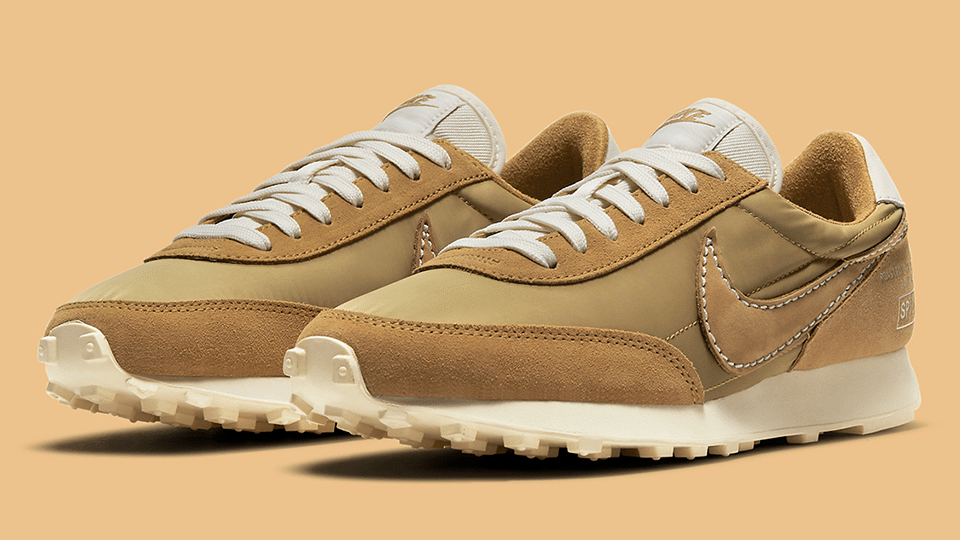 This month, Nike brought a caffeinated color scheme to one of their classic sneakers: the Daybreak