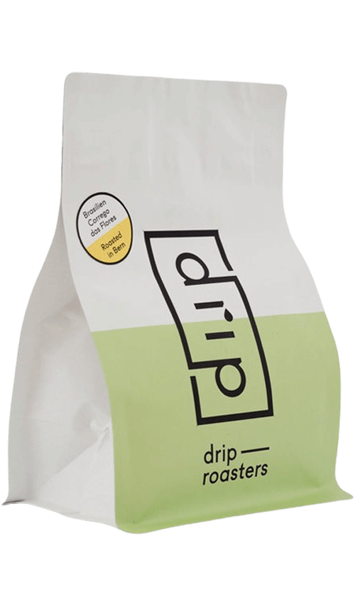 Drip Roasters Brazil Corrego das Flores coffee package cover