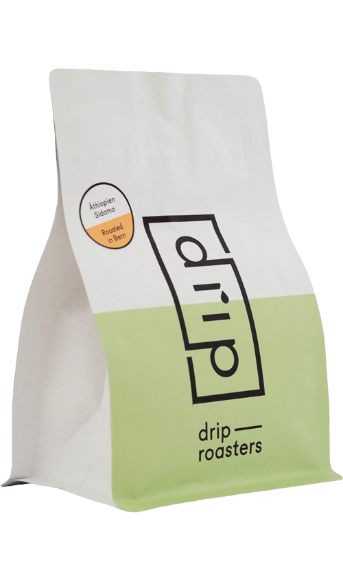 Drip Roasters Ethiopia Sidamo filter coffee package cover