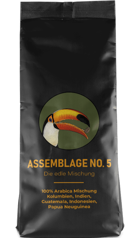 Kaffeepur Assemblage No. 5 coffee package cover