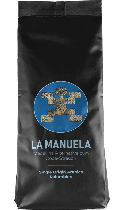 Kaffeepur La Manuela coffee package cover