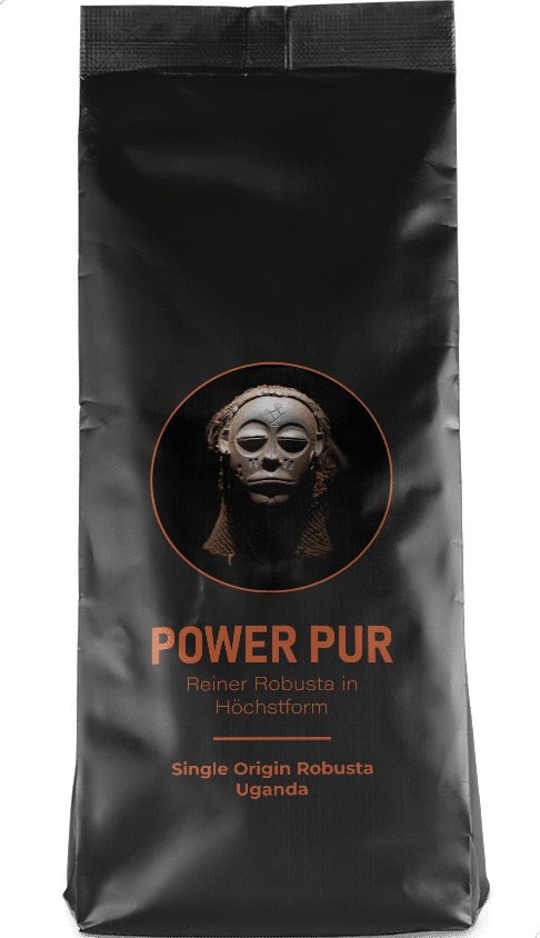 Kaffeepur Power Pur coffee package cover