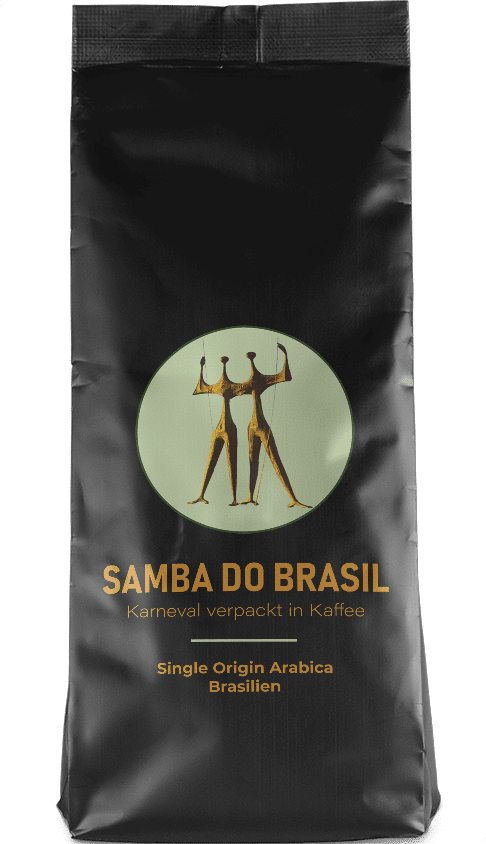Kaffeepur Samba do Brasil coffee package cover