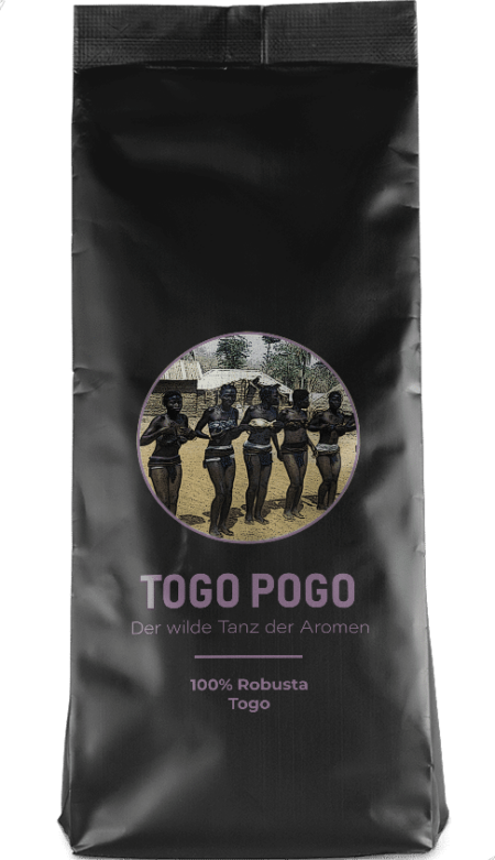 Kaffeepur Togo Pogo coffee package cover