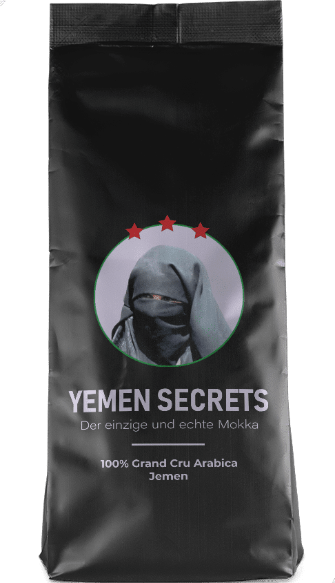 Kaffeepur Yemen Secrets coffee package cover