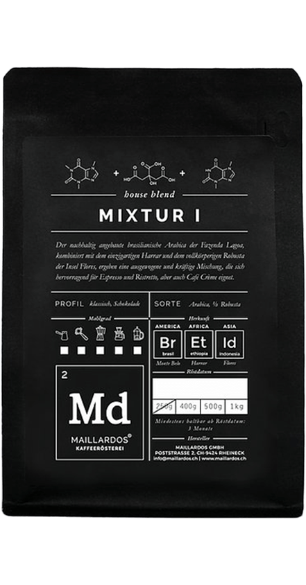 Mixtur I Coffee Package Cover