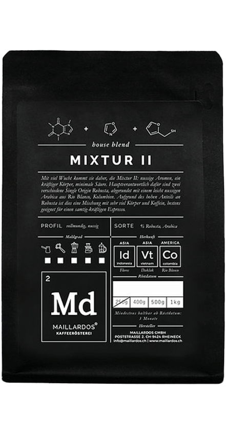Mixtur II Coffee Package Cover