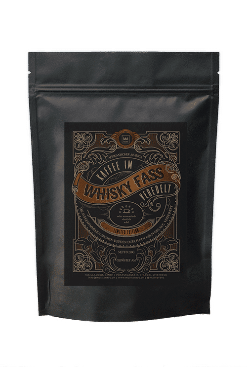 Whiskey Fass Coffee Package Cover