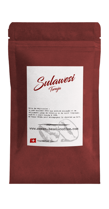 Sweet Bean Sulawesi Toraja coffee package cover