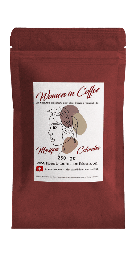 Sweet Bean Women in Coffee Blend coffee package cover